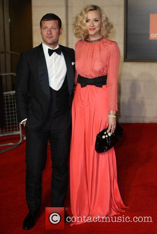 Fearne Cotton and Dermott O'Leary  Orange British...