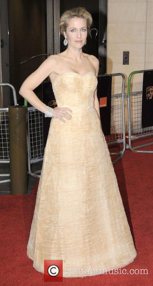 Gillian Anderson and Bafta 1