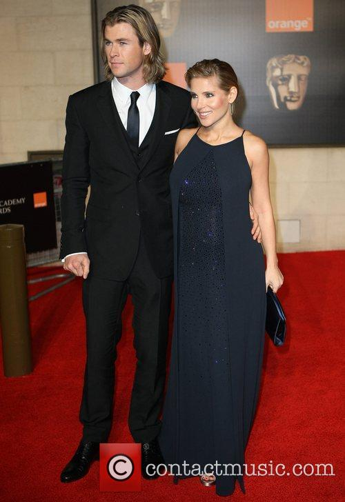 Elsa Pataky, Chris Hemsworth and Bafta 2