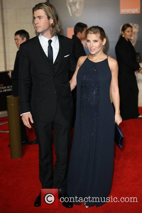 Elsa Pataky, Chris Hemsworth and Bafta 3