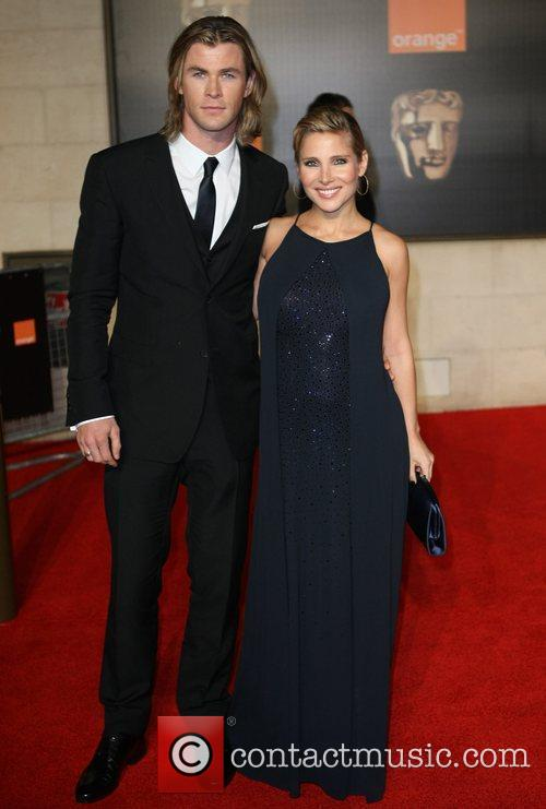 Elsa Pataky, Chris Hemsworth and Bafta 4