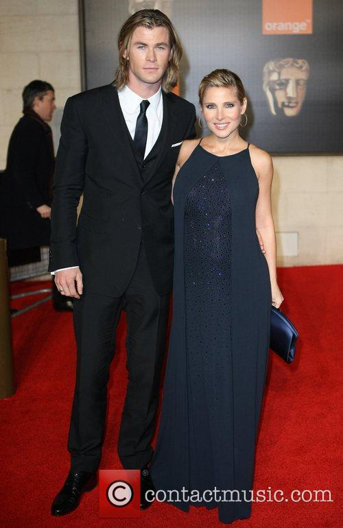 Elsa Pataky, Chris Hemsworth and Bafta 6