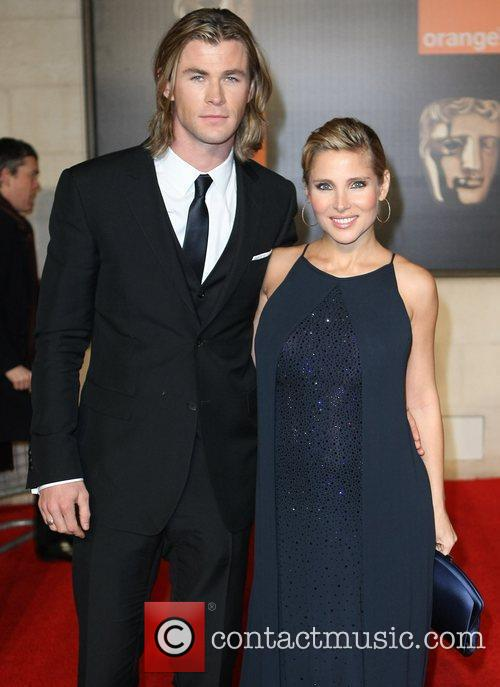 Elsa Pataky, Chris Hemsworth and Bafta 1