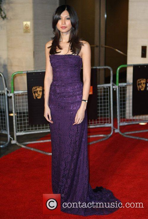 Gemma Chan Orange British Academy Film Awards (BAFTAs)...