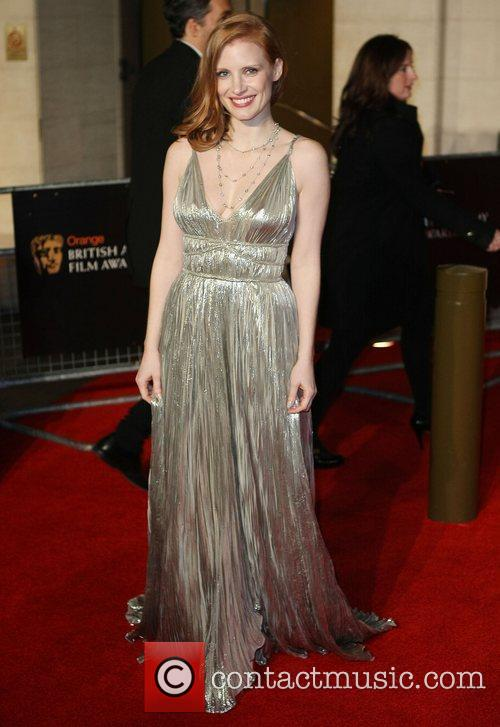 Jessica Chastain and Bafta 2