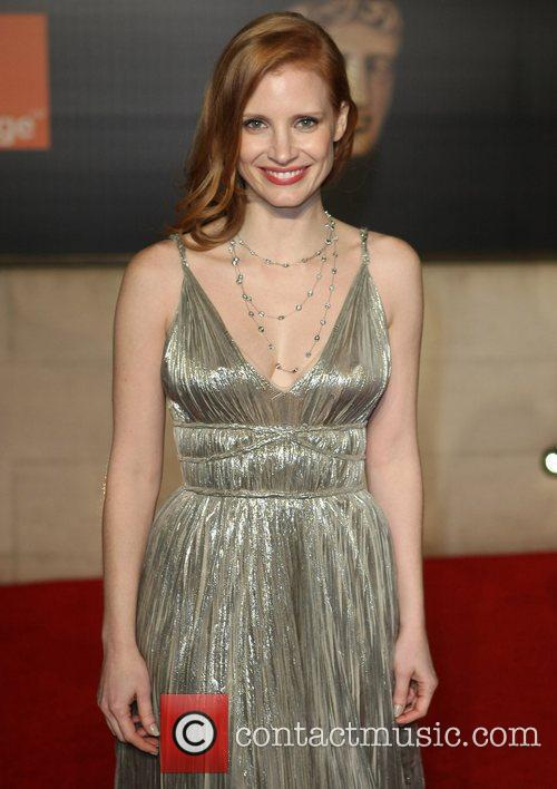 Jessica Chastain and Bafta 3