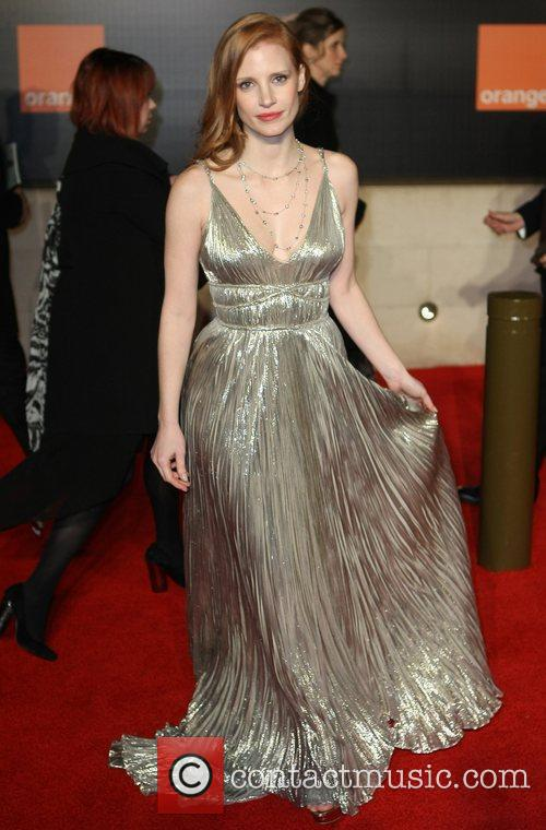 Jessica Chastain and Bafta 4