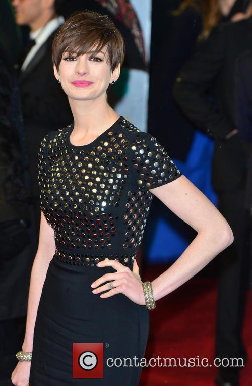 Anne Hathaway The 2013 EE British Academy Film...