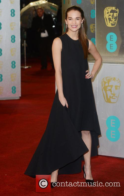 Alicia Wikander and British Academy Film Awards 3