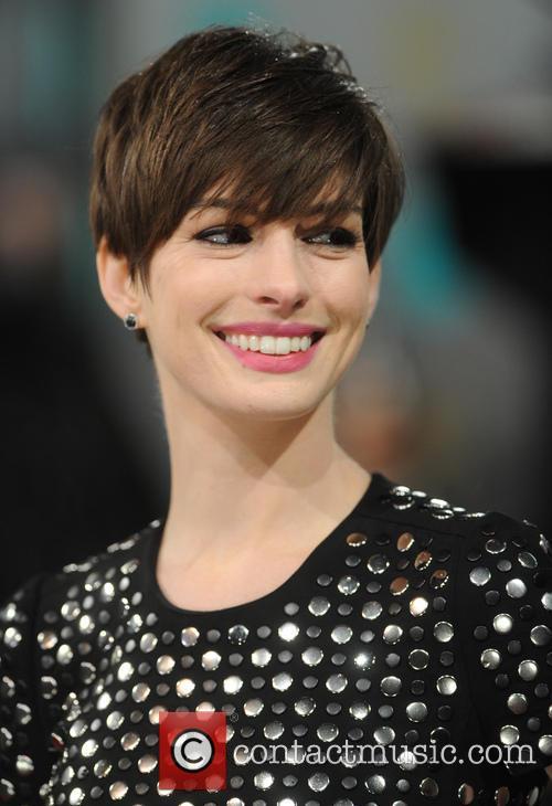 Anne Hathaway and British Academy Film Awards 8