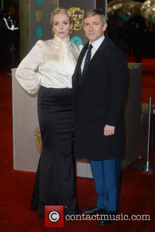 Martin Freeman, Amanda Abbington and British Academy Film Awards 9