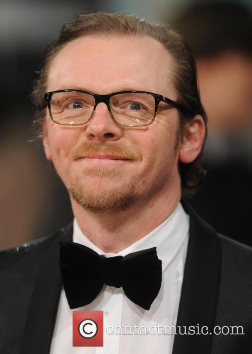 Simon Pegg The 2013 EE British Academy Film...