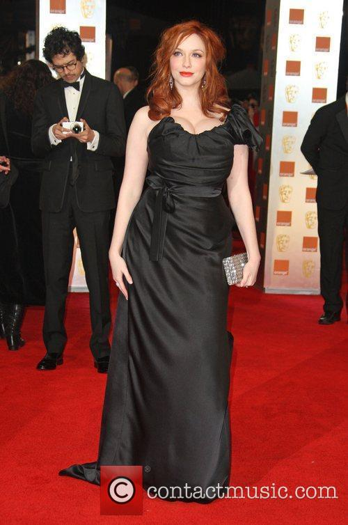 Christina Hendricks and Bafta 2