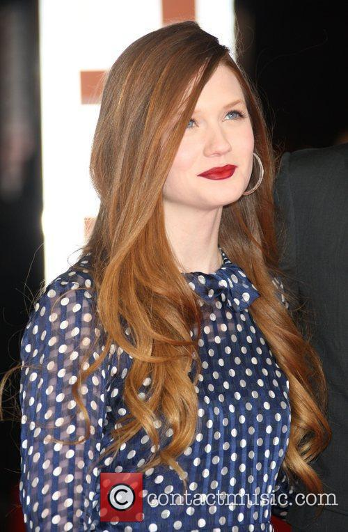 Bonnie Wright and Bafta 6