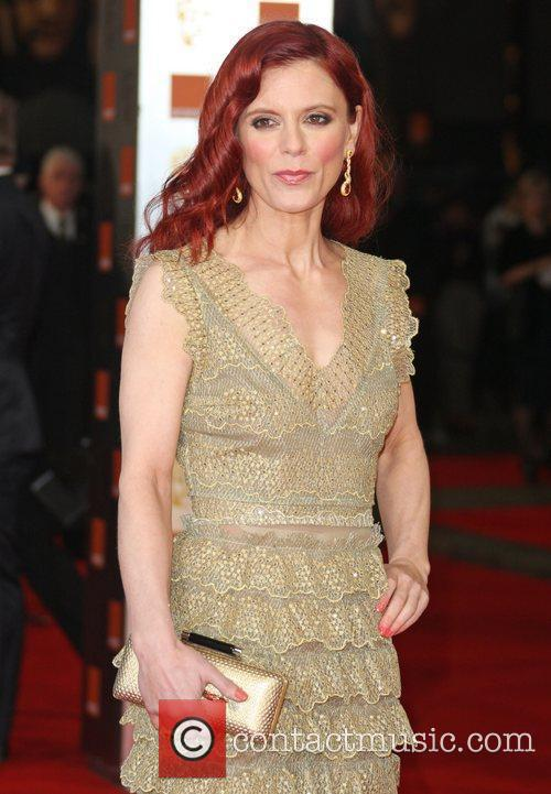 Emilia Fox and Bafta 1