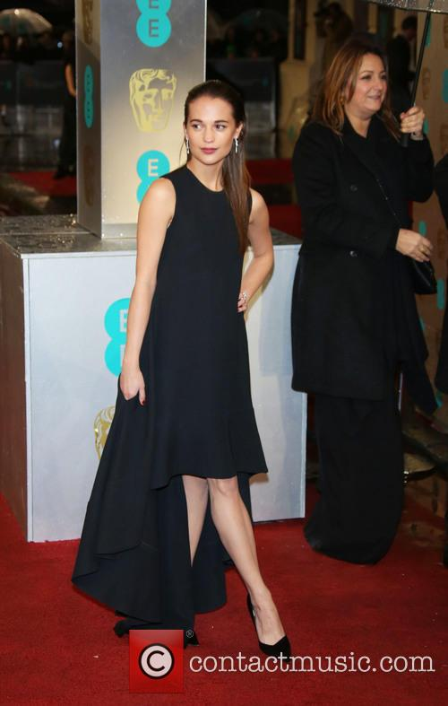 Alicia Vikander and British Academy Film Awards 6