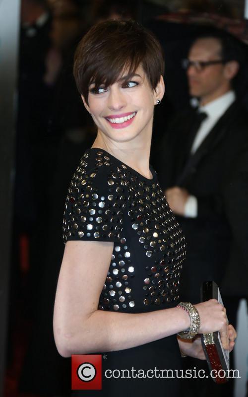 Anne Hathaway and British Academy Film Awards 2