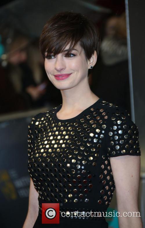 Anne Hathaway and British Academy Film Awards 3