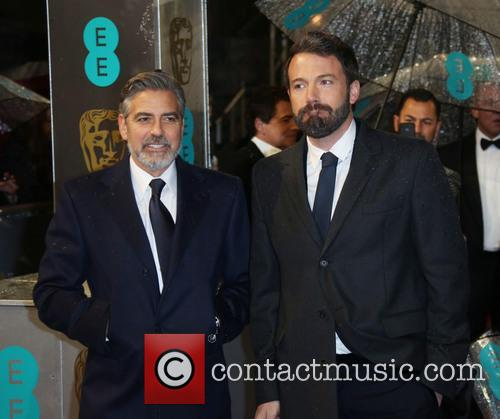 Ben Affleck, George Clooney and British Academy Film Awards 7