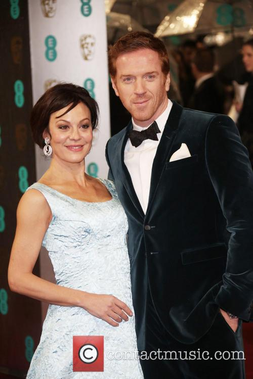Damian Lewis (r) and Helen McCrory The 2013...