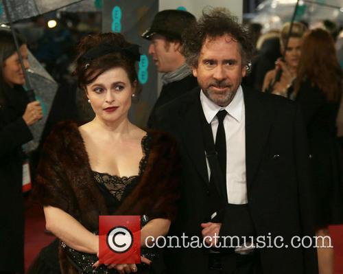 Helena Bonham Carter and director Tim Burton The...