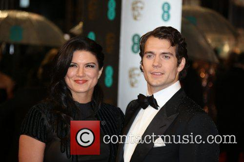 Henry Cavill and Gina Carano The 2013 EE...