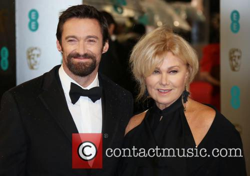 Hugh Jackman and Deborra-Lee Furness The 2013 EE...