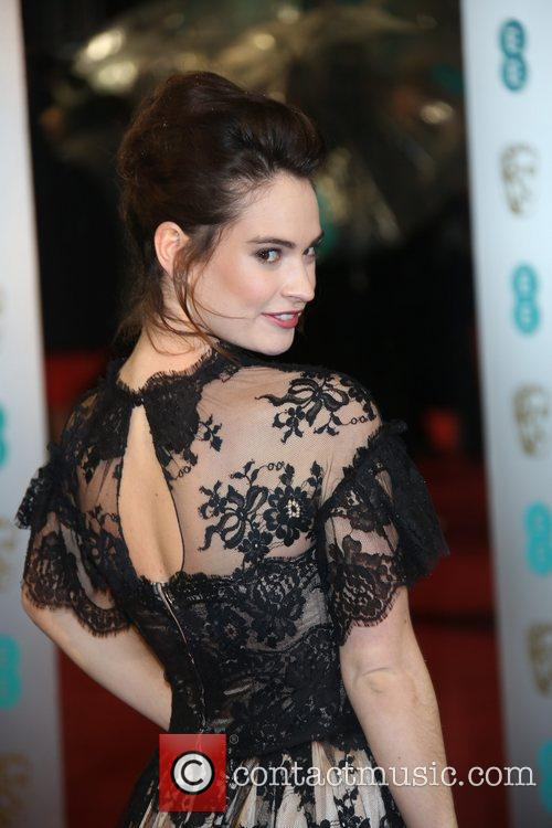 Lily James The 2013 EE British Academy Film...