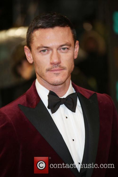 Luke Evans and British Academy Film Awards 1