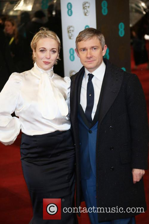 Martin Freeman, Amanda Abbington and British Academy Film Awards 8