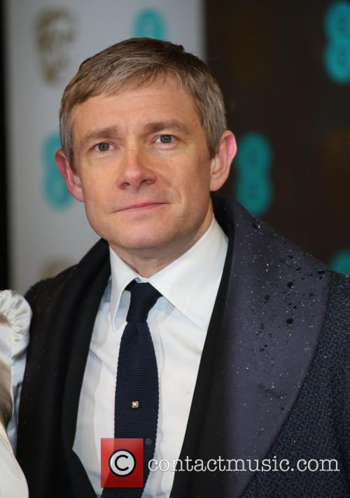 Martin Freeman, Amanda Abbington and British Academy Film Awards 1