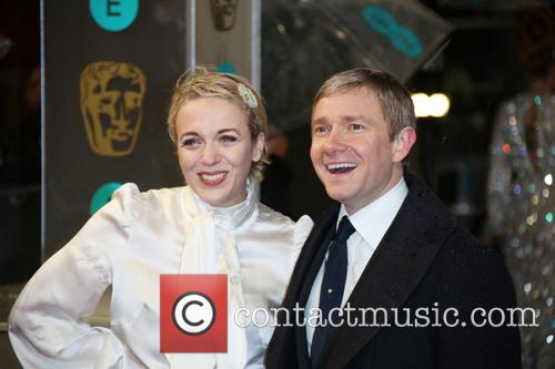 Martin Freeman, Amanda Abbington and British Academy Film Awards 7