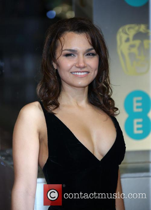 Samantha Barks The 2013 EE British Academy Film...