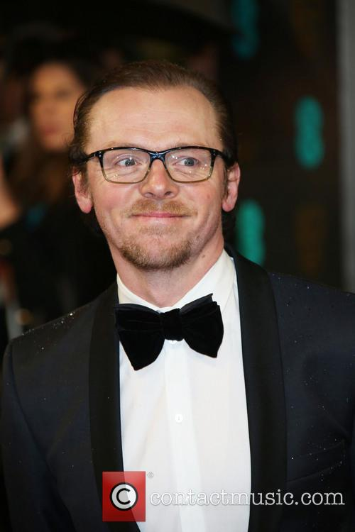 Simon Pegg and British Academy Film Awards 3