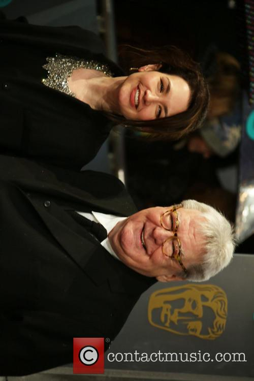 Sir Alan Parker and his wife Lisa Parker...