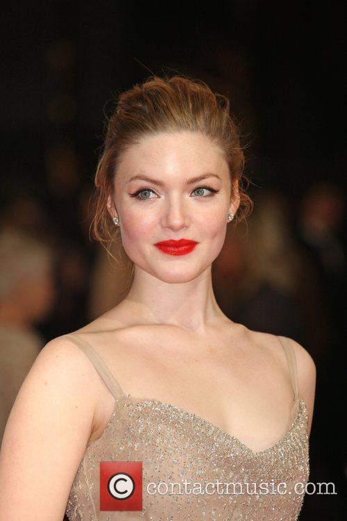Holliday Grainger and Bafta 2