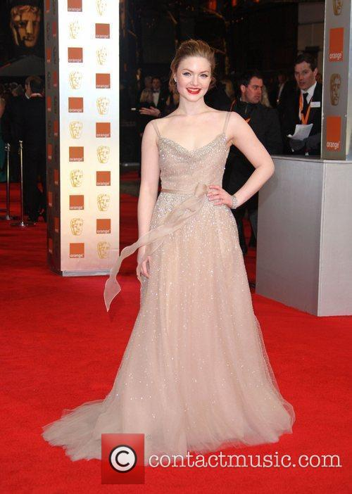 Holliday Grainger and Bafta 3