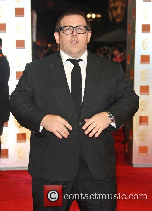 Nick Frost and Bafta 2