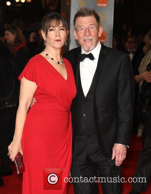 John Hurt and Bafta 2