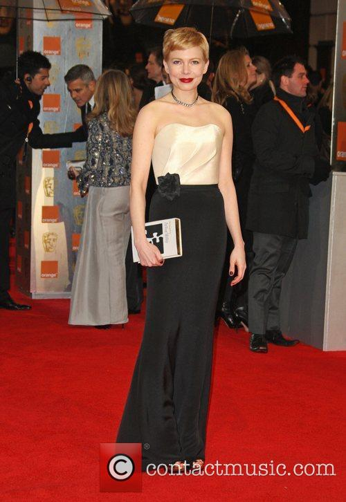 Michelle Williams and Bafta 3