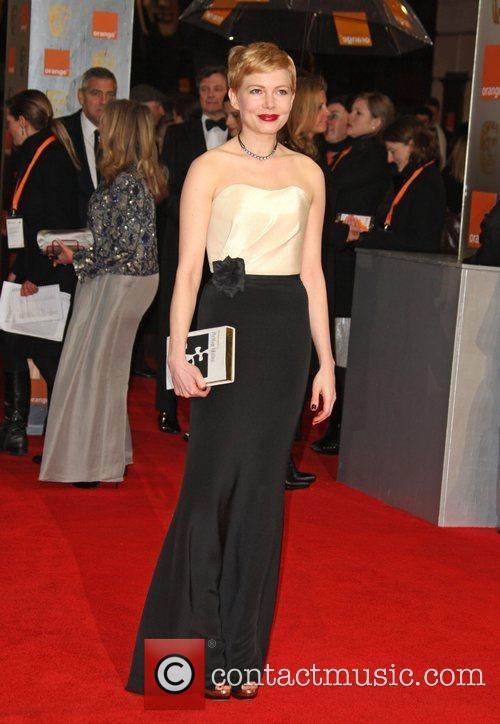 Michelle Williams and Bafta 5