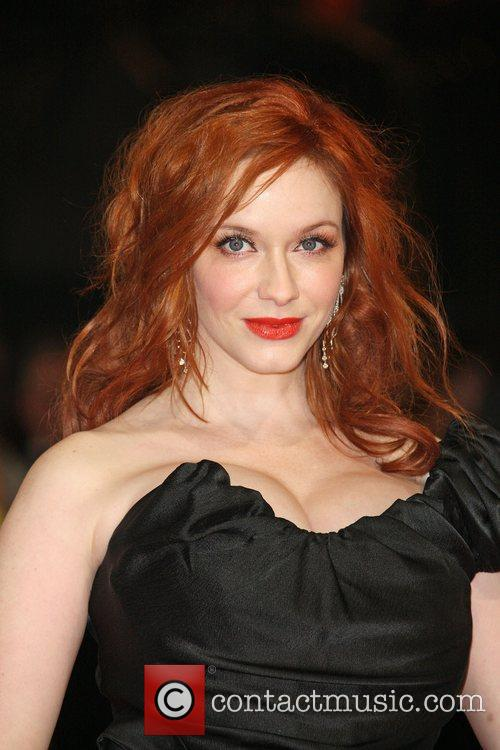 Christina Hendricks and Bafta 3