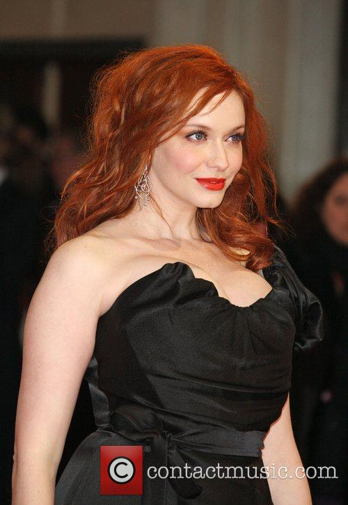 Christina Hendricks and Bafta 4