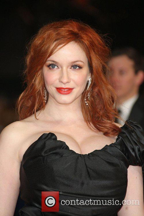 Christina Hendricks and Bafta 5