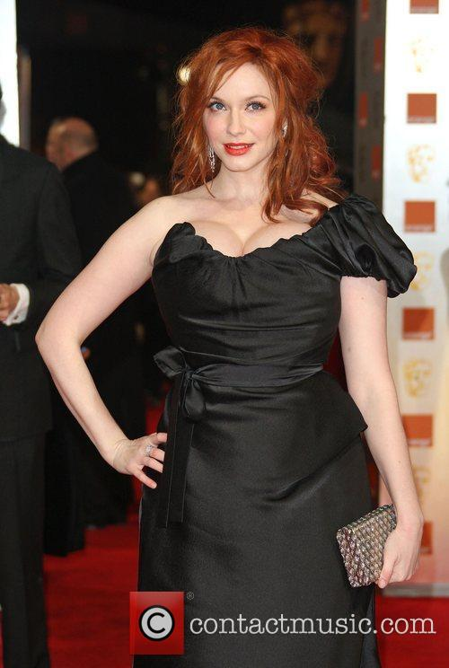 Christina Hendricks and Bafta 6