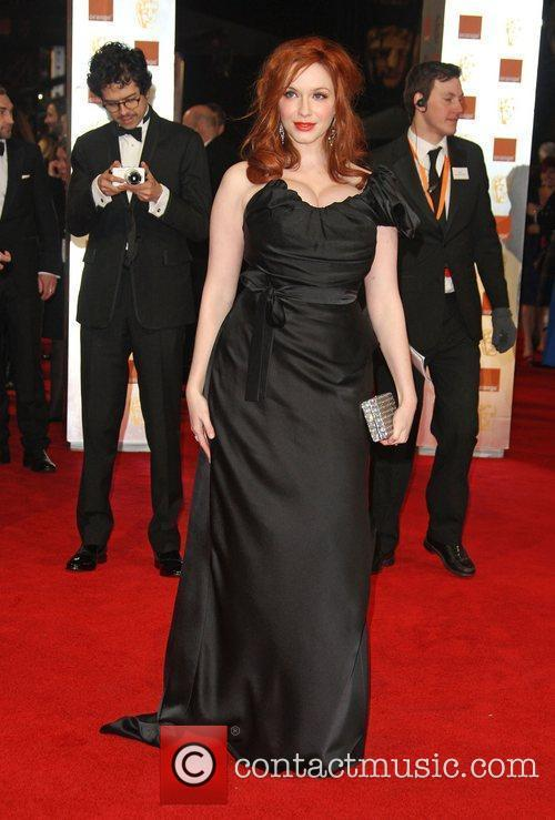 Christina Hendricks and Bafta 1