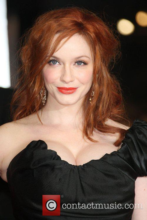 Christina Hendricks and Bafta 7