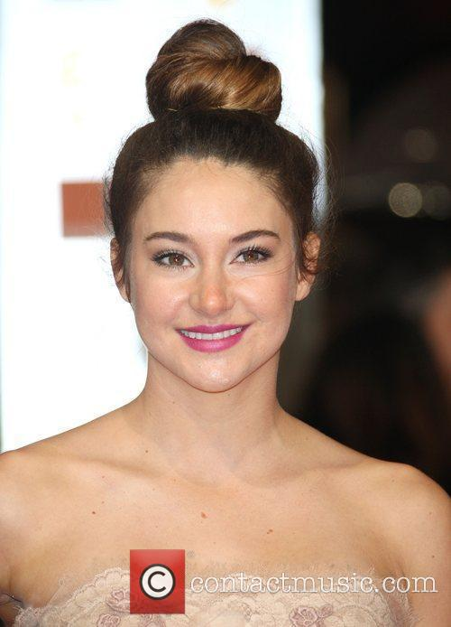 Shailene Woodley and Bafta 1