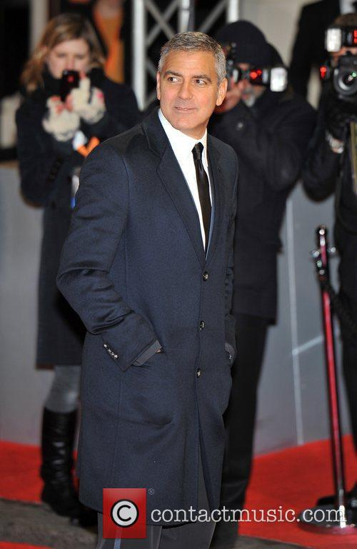 George Clooney and Bafta 4