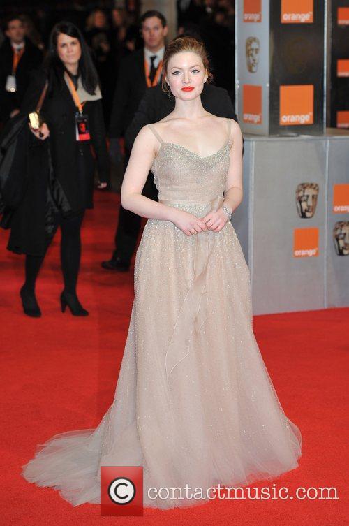 Holiday Grainger Orange British Academy Film Awards (BAFTAs)...